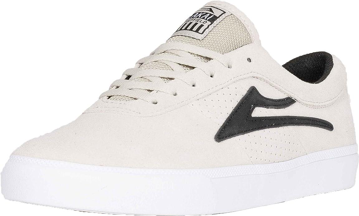 Lakai Sheffield WhiteBlack Suede: : Chaussures et Sacs