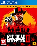 Red Dead Redemption II 2 PS4 ULTIMATE LIMITED EDITION (Steelbook+DLC) NUOVO con Italiano Scatola In Spagnolo
