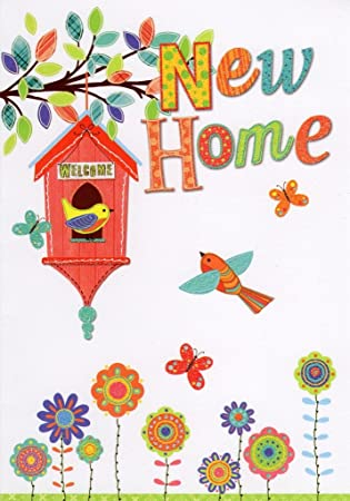 New Home Greeting Card Great Value Greetings Cards