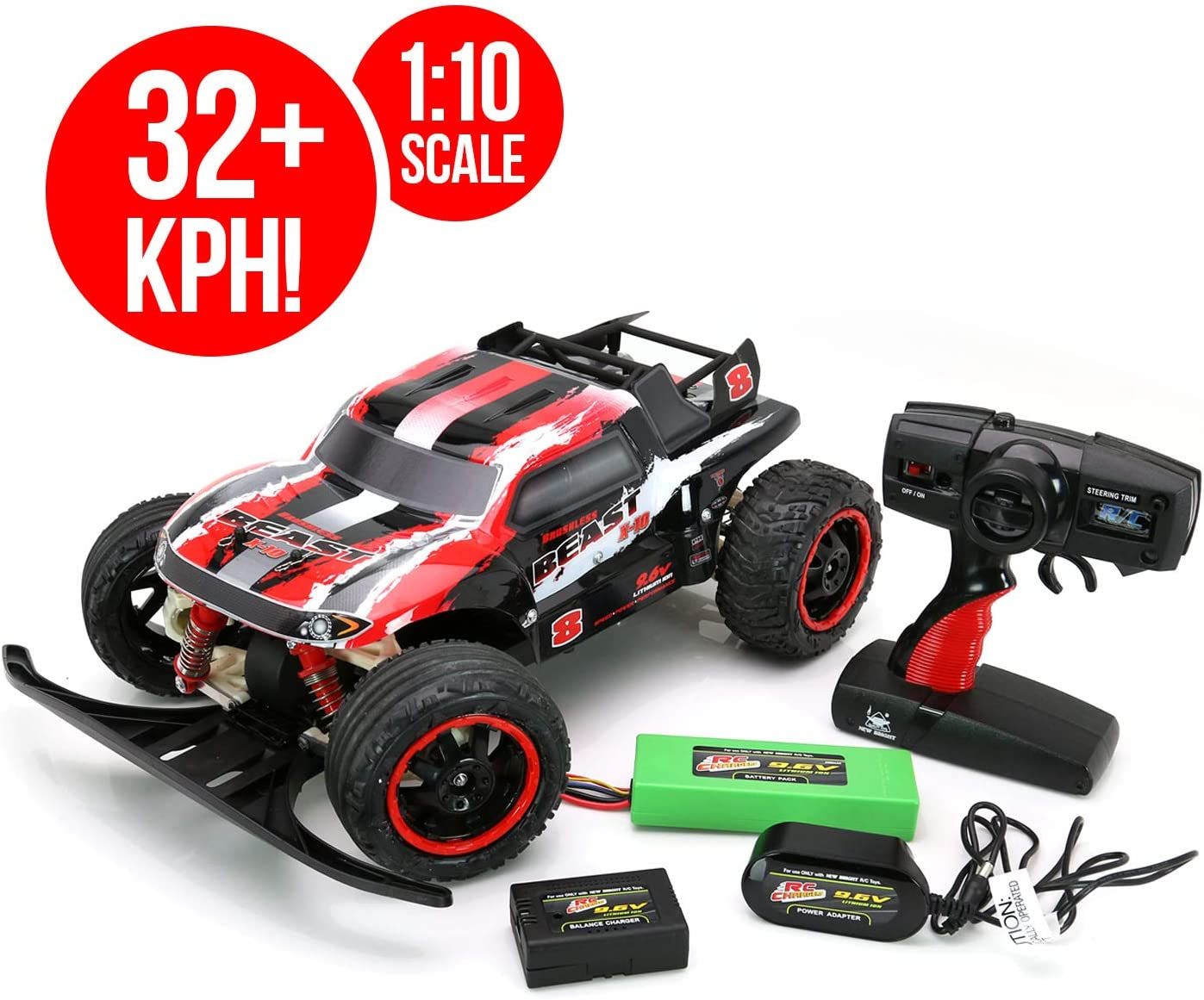 RC CHARGERS The Beast BRUSHLESS RC Truck