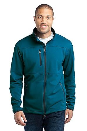 Port Authority NEW - Pique Fleece Jacket, XL, Blue Glacier