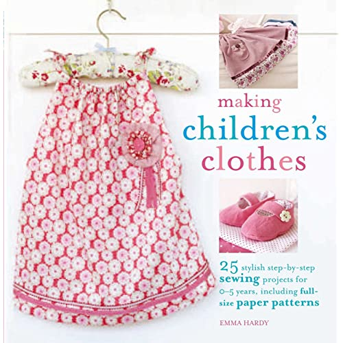 Sewing Patterns For Children's Clothes Amazoncouk Simple Children's Clothing Patterns