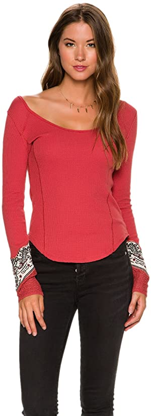 Free People Womens XS Red