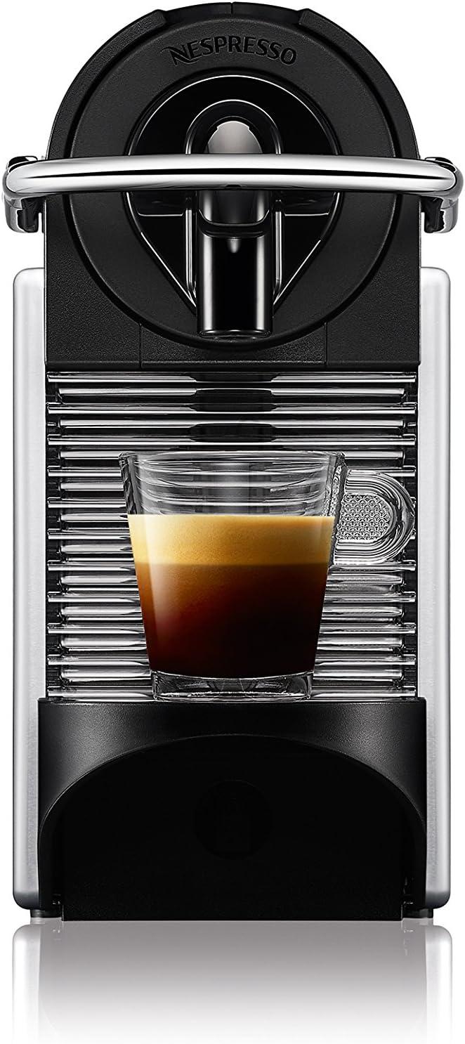 DeLonghi EN 125.S Nespresso Pixie Machine /à expresso Aluminium -16 capsules de caf/é inclus Import Allemagne
