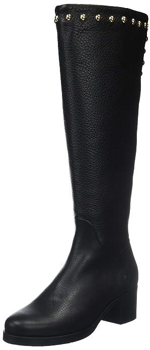 Einzelhandelspreise wo kann ich kaufen Offizieller Lieferant Tommy Hilfiger Women's Round Stud Long Boot High: Amazon.co ...