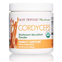 Host Defense, Cordyceps Mushroom Powder, Supports Energy, Stamina and Athletic Performance...