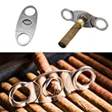 Ximimark Stainless Steel Pocket Cigar Cutter Knife