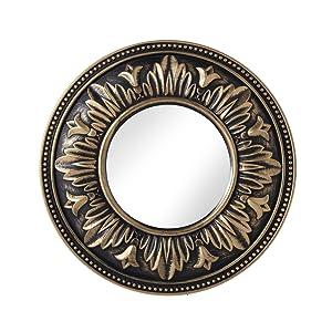 A Vintage Affair Antique Small Decorative Mirror (Copper Colour)