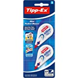 Tipp-Ex Mini Pocket Mouse Rubans Correcteurs - Blister de 2