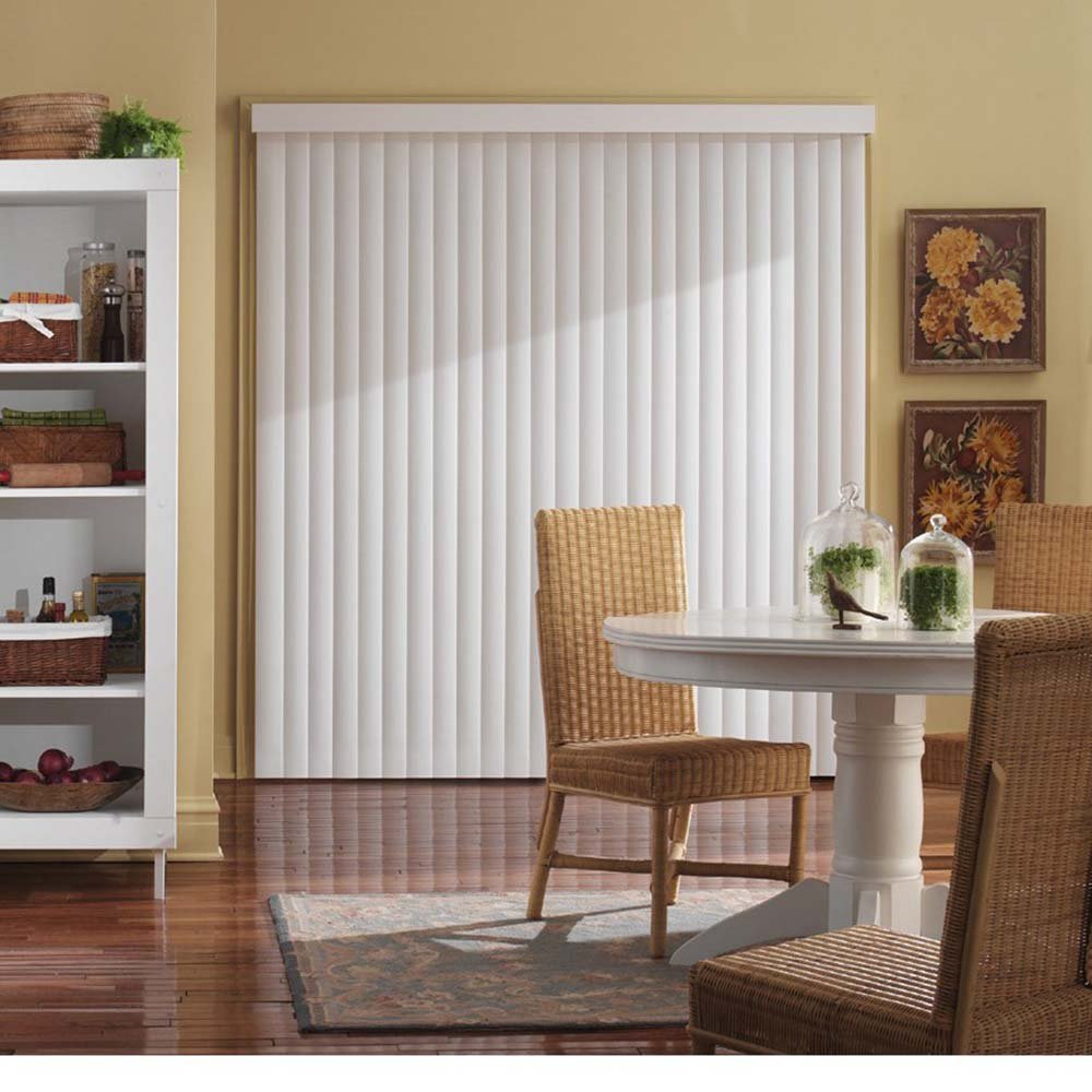 Amazon Bali Blinds Vertical Blind Kit 78x84 Crown White Home Kitchen