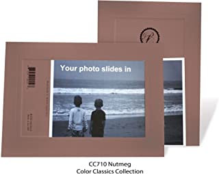 "product image for Photo Note Cards for 4"" x 6"" image 10 Pack with Envelopes ColorClassics (Nutmeg)"
