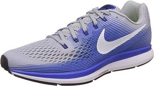 Nike Herren Air Zoom Pegasus 34 Laufschuhe, schwarzgrau