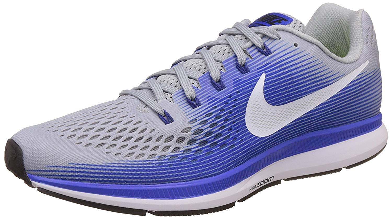 Nike Herren Air Zoom Pegasus 34 Laufschuhe weiß blau B01JQ9327S  | Up-to-date-styling