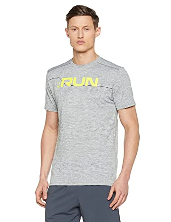 26ec30ec Under Armour Men's Run Front Graphic Short-Sleeve Shirt: Amazon.co ...