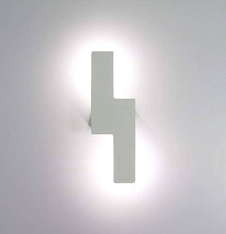 Lightess Applique da Parete Interni Lampada a Muro Applique LED ...