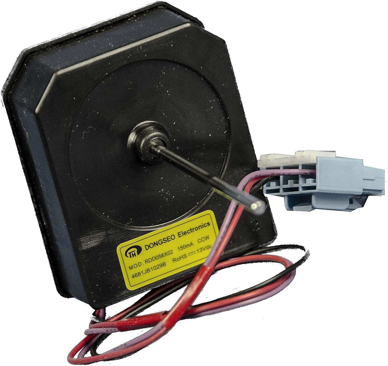 Motor Ventilador Condensador 4681JB1029B RDD056X02 4681JB1027B ODM-002C 4681JB1027G ODM-001F-08: Amazon.es: Grandes electrodomésticos