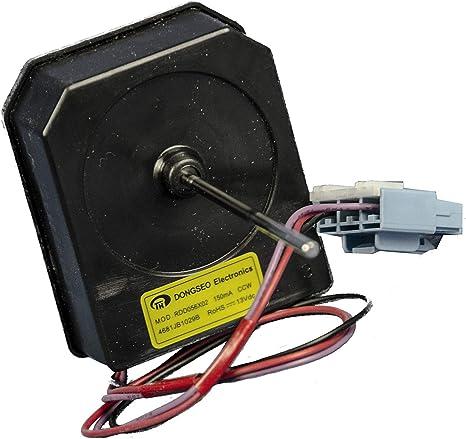 Motor Ventilador Condensador 4681JB1029B RDD056X02 Frigorífico Original LG: Amazon.es: Grandes electrodomésticos