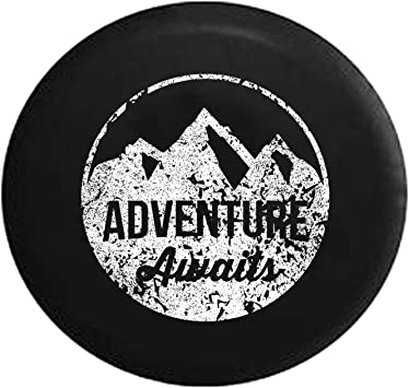 Adventure Awaits Tire Cover 28