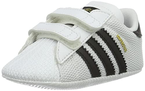 Adidas Superstar Crib, Chaussures de Football Garçon, Multicolore (Ftwwht/Cblack/Ftwwht