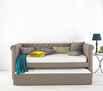 Emily Day Bed Guest Bed Frame Only Grey Amazon Co Uk Kitchen Home