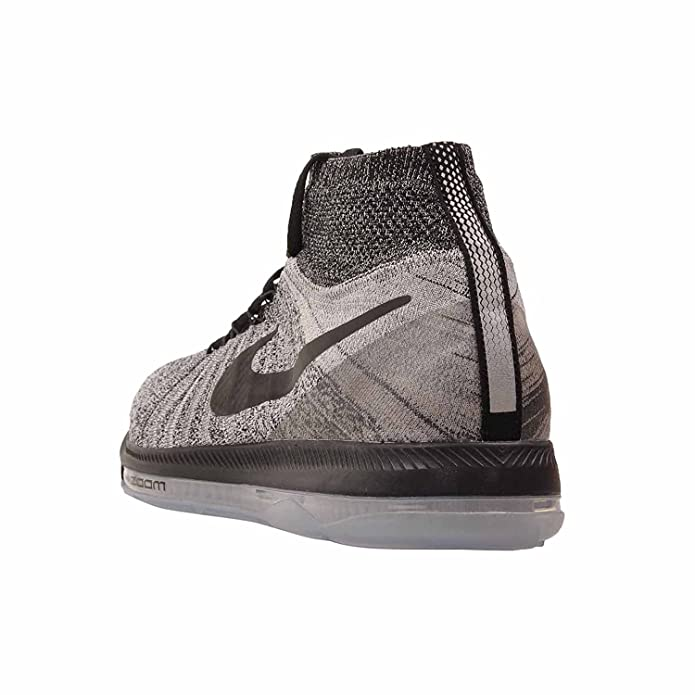 e86651317d134 Zoom All Out Flyknit 844134 005 Grey/Black