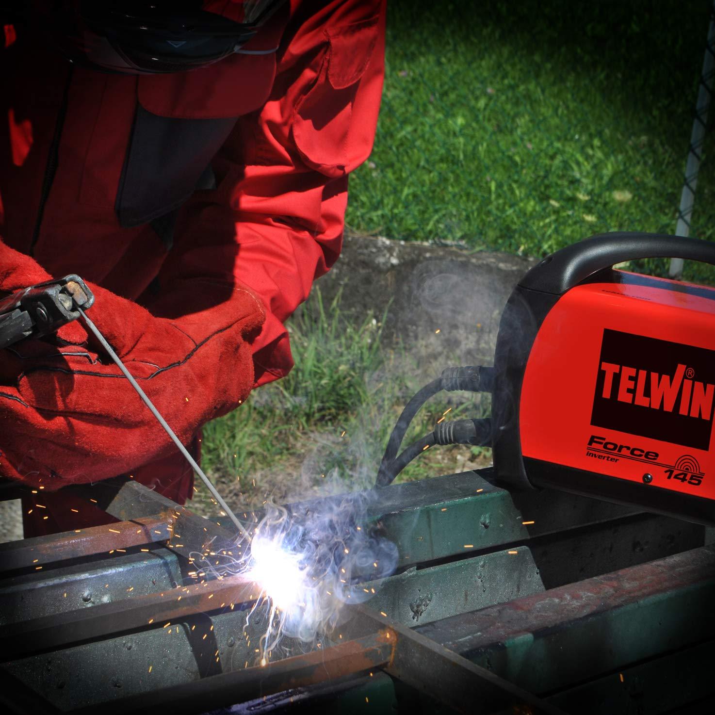 Telwin 7170033 Soldadura Inverter Force 145 125 A.