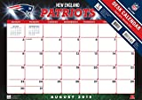 Turner 2016 17-Month Desk Pad, New England
