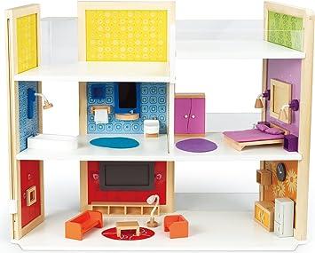 Hape E3403 - Casa dei Sogni Fai da Te, Multicolore: Amazon.it