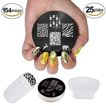 Amazon Professional Manicure Nail Art Set Kit With Polish