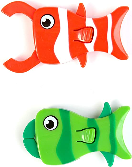 Shrockie Magnetic Fish Clip Bag Clamp (2 piece)