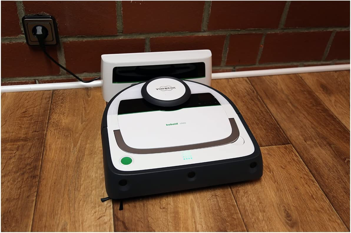Vorwerk Kobold VR200 aspiradora-Robots - robot aspirador: Amazon ...