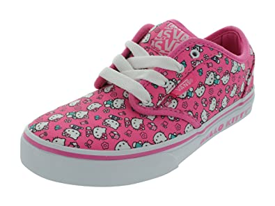 54b5be4a796a2e Image Unavailable. Image not available for. Color  New Vans Atwood Youth  size 2.5 Hello Kitty shoes