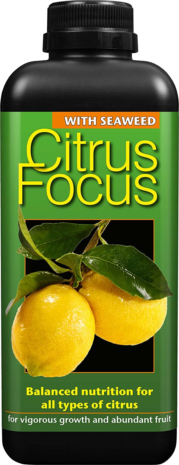 Growth Technology Ltd 05-210-210 Citrus Focus Balanced Concentrated Liquid Fertiliser 1 Litre