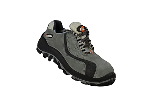 JALLATTE jalsirius SAS S1P SRC – Calzado de Seguridad Senderismo Zapatos Plano Gris, Color Gris