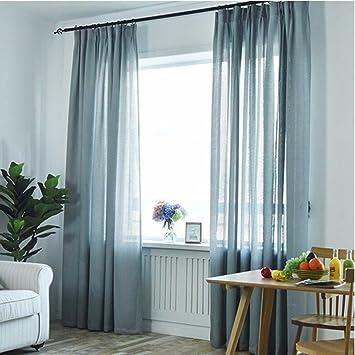 Vorhänge Wohnzimmer, Weißen Vorhang, Opak, Reine Farbdisplay ...