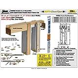 "Johnson Hardware 153068SC Commercial Grade Pocket Door Frame (36"" x 80"") Soft Close"