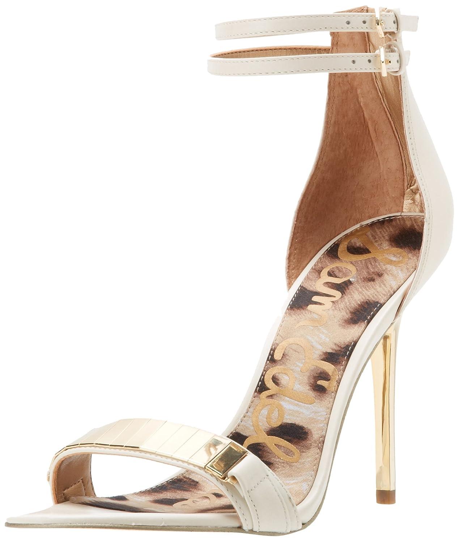 8d3c7a71fc0 Amazon.com | Sam Edelman Women's Allie Ankle-Strap Sandal | Heeled ...