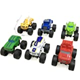Yuanzu Blaze and The Monster Machines Toy Cars - 6 Piece Sets