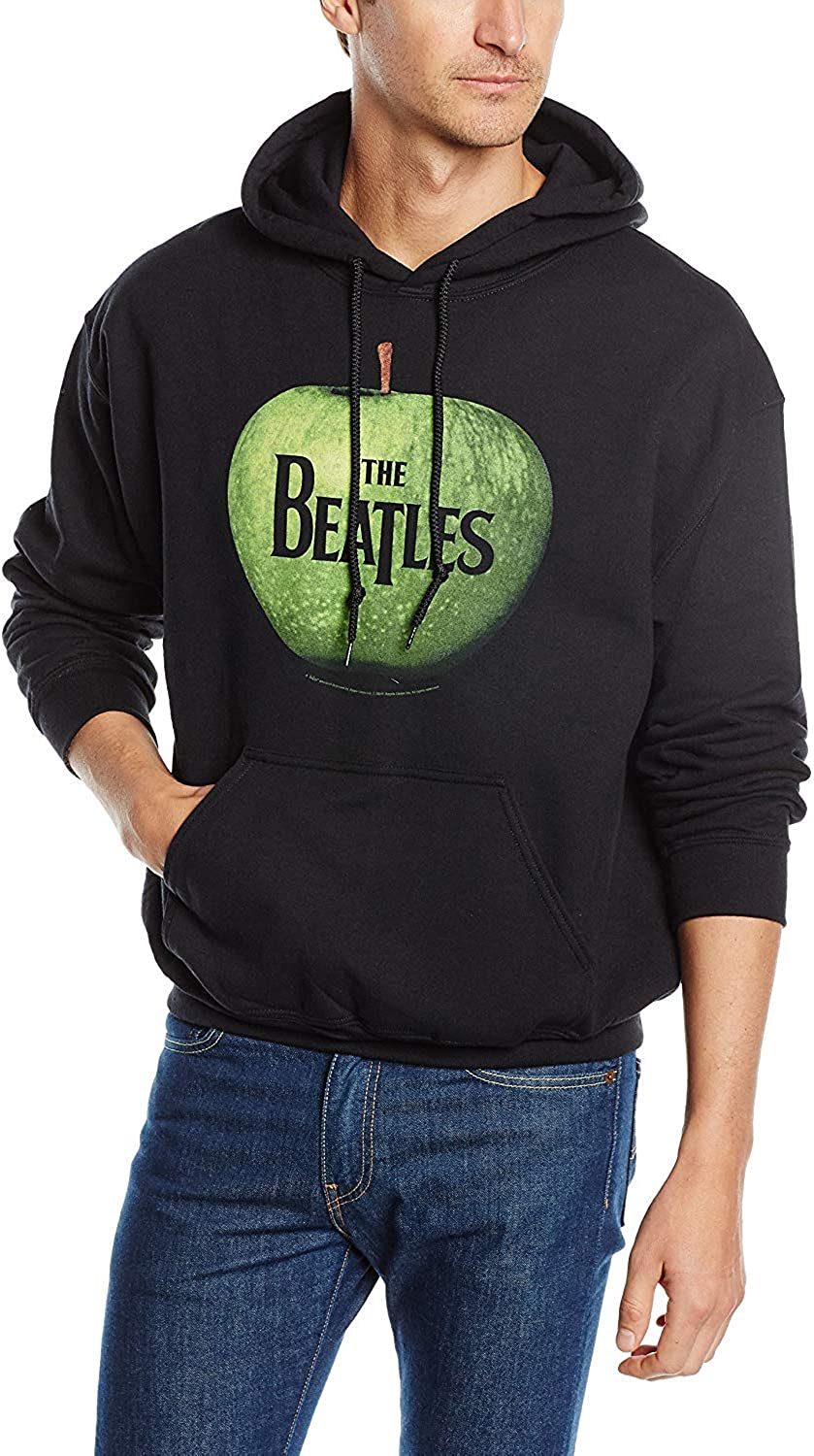 Beatles Men's Apple Hooded Sweatshirt Black