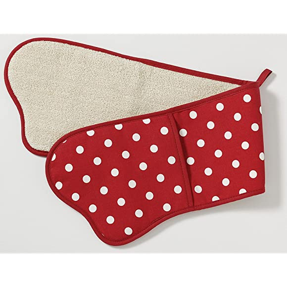 Belle Red Double Oven Glove by C'est Ca!