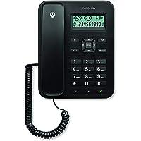 Motorola CT202i Corded Phone With Caller ID & Speaker Phone- Black