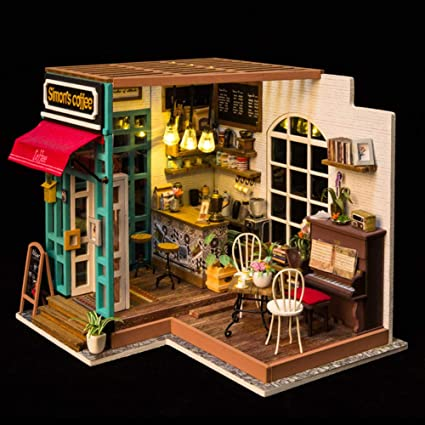 Billy/'s Handmade Doll House Kit Parisian Grocery Store New Free shipping