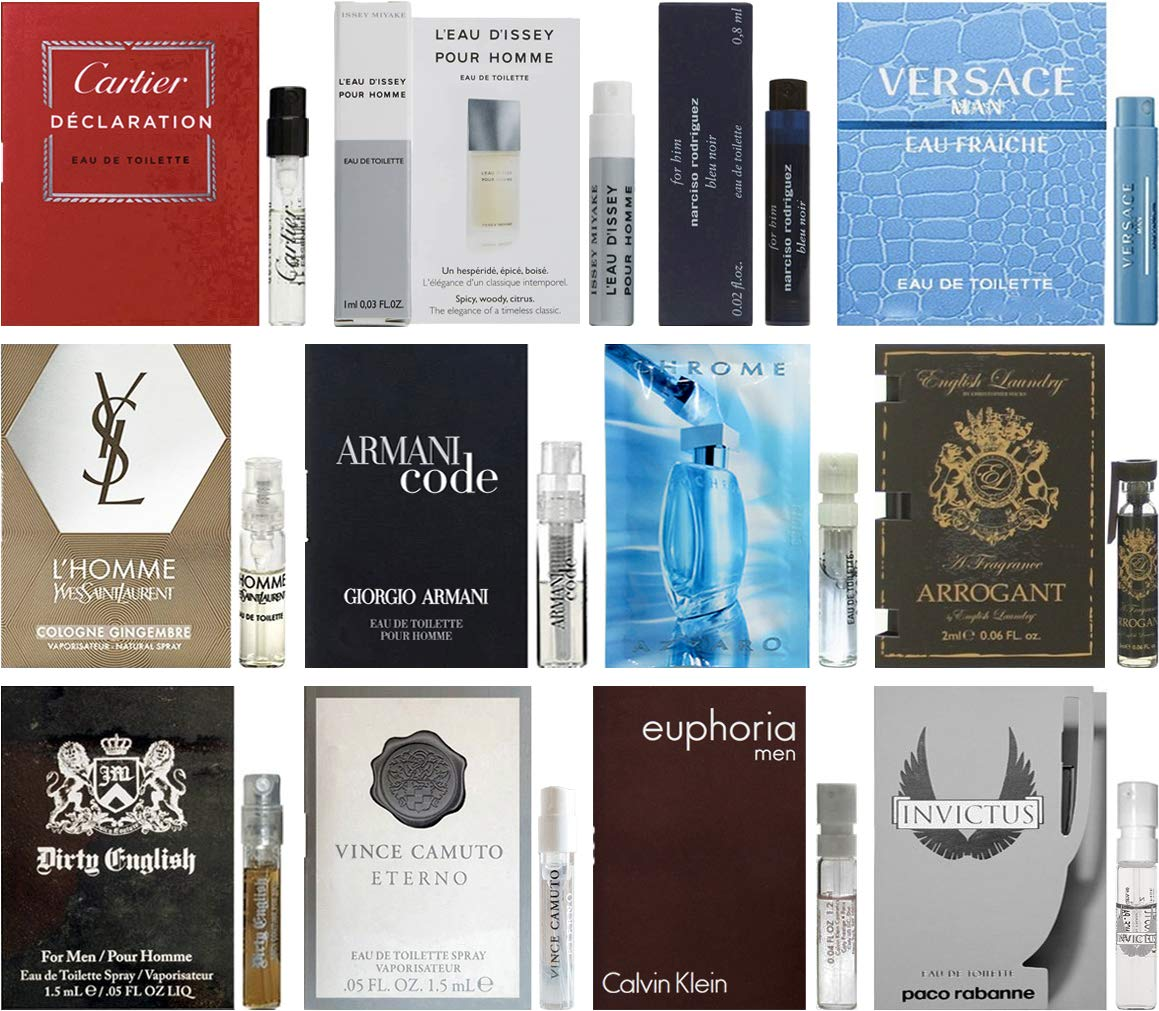 perfume introduction sample