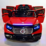 Stunning 2 seater Big Ride On Suv Style 12v Battery Operated Car for Kids with Music, Lights, Doors, MP3 and Remote Control