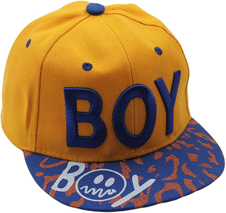 Top Fashion Hat Boys Child Letter Sun Baseball Cap Summer Adjustable Hip Hop Children Hats Caps