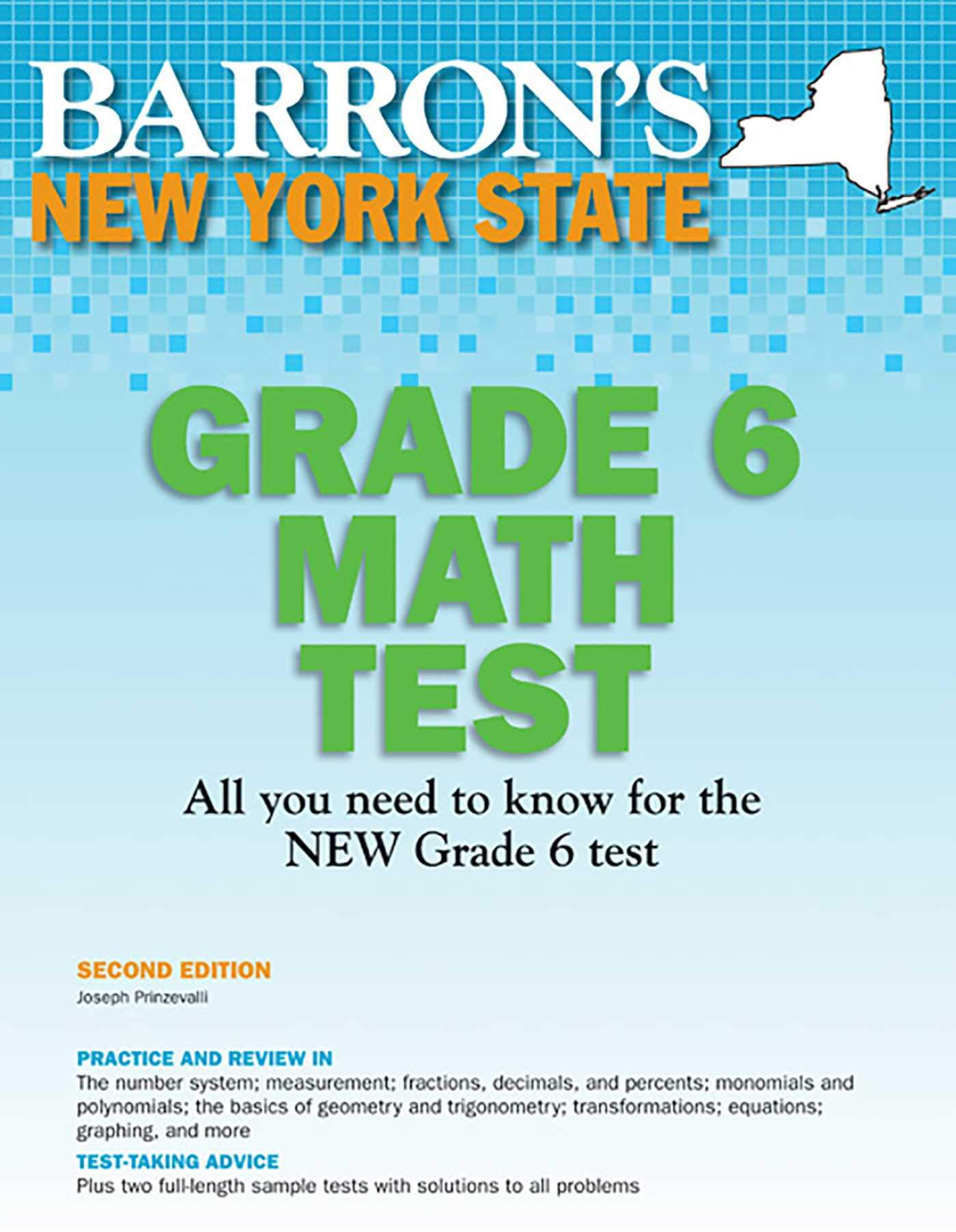 New York State Grade 6 Math Test, 2nd Edition (Barron\'s New York ...