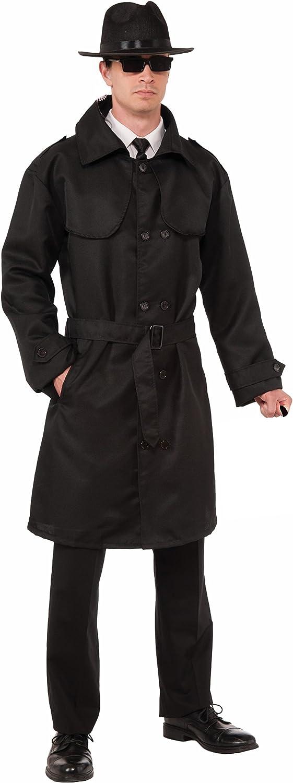 Men's Secret Agent Spy Trench Coat