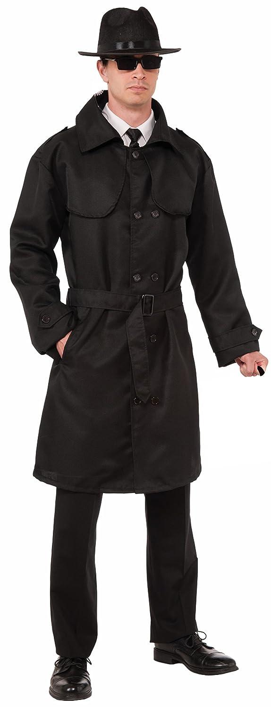 Forum Novelties Men's Secret Agent Trench Coat Standard