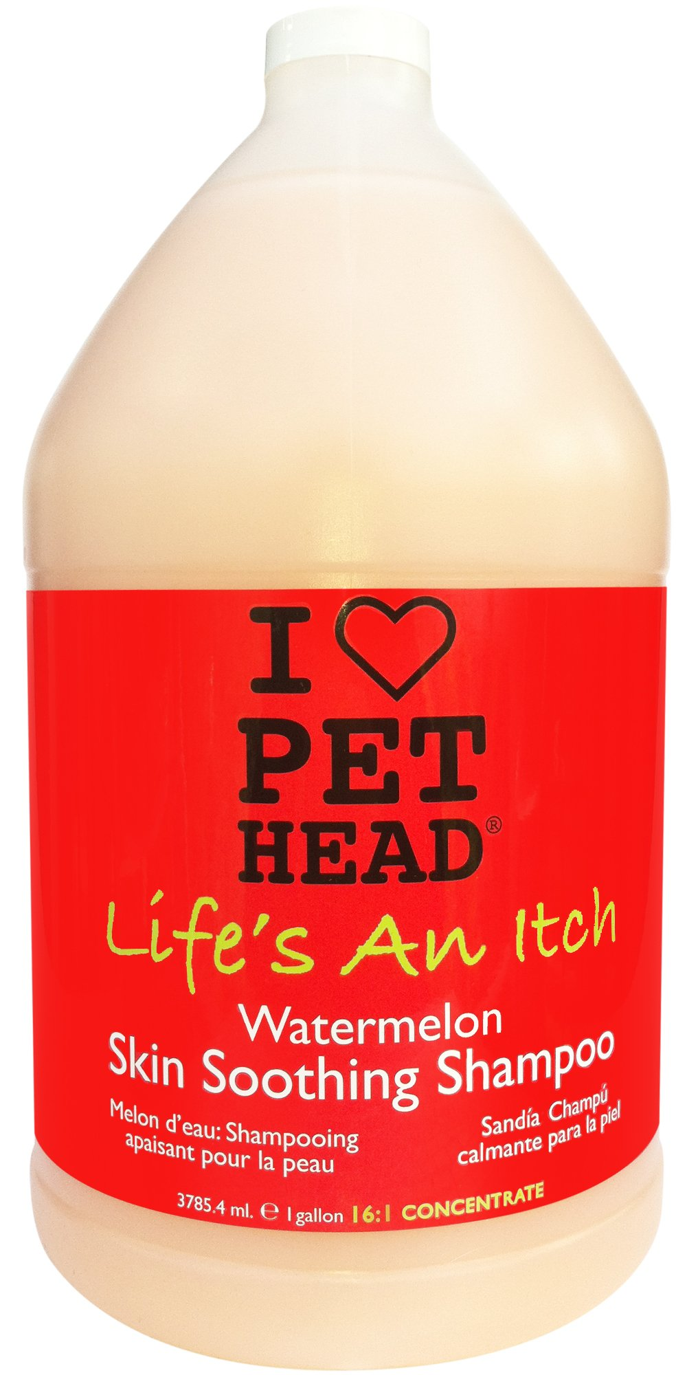 PET HEAD Life's An Itch Shampoo - 1 Gallon