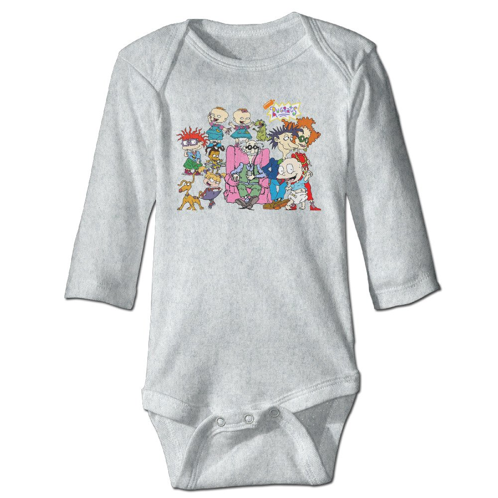 Baby Child 100/% Cotton Long Sleeve Onesies Toddler Bodysuit RUGRATS Variety Onesies